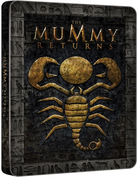 The Mummy Returns (Steelbook) Blu-Ray - BDU 32413SBFP