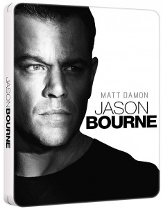 Jason Bourne (Steelbook) Blu-Ray - BDU 494445SBFP