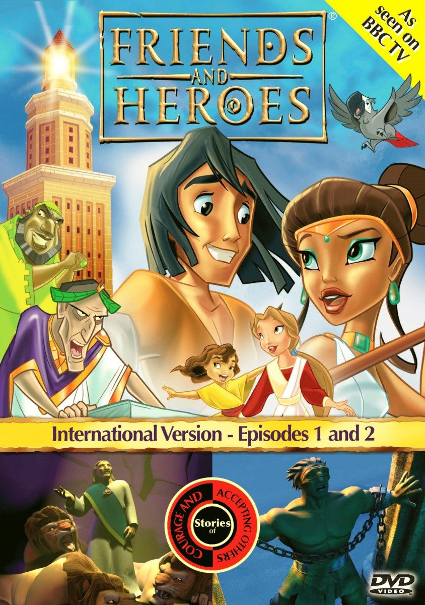Friends And Heroes: 1 - Stories of Courage and Accepting Others DVD - FHDVD01