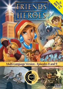 Friends And Heroes: 5 - Stories of Doing Right & Being Brave DVD - FHDVD05