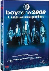 Boyzone - Live In Dublin From The Point DVD - 30947L