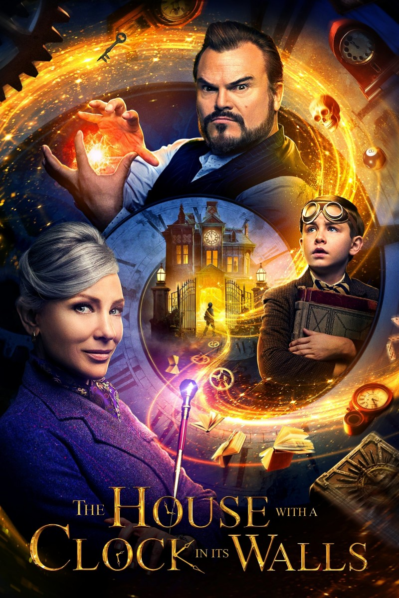 The House with a Clock in Its Walls DVD - 04311 DVDI