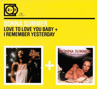 Donna Summer - 2 For 1: Love To Love You Baby / I Remember Yesterday CD - MMTDCD 063