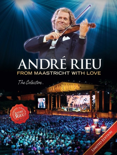 Andre Rieu - From Maastricht With Love: The Collection (Limited Edition) DVD - 06025 3707889