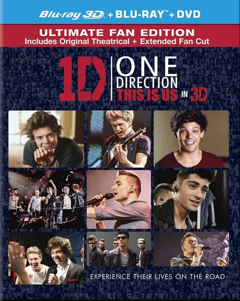 One Direction - This Is Us 3D Blu-Ray+Blu-Ray - BDB1396LC3D3