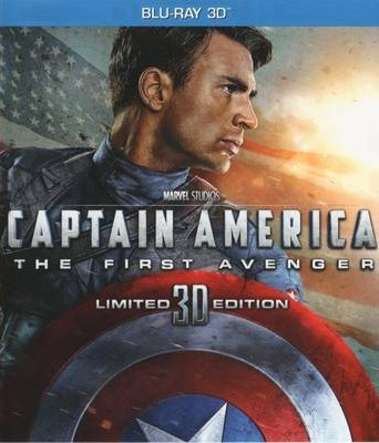 Captain America: The First Avenger (Limited Edition) 3D Blu-Ray - 5055025700539