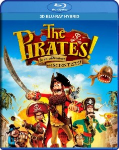 The Pirates! In an Adventure with Scientists! 3D Blu-Ray Hybrid - 3D BDS 71644