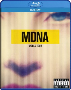 Madonna - MDNA World Tour Blu-Ray - 06025 3747934