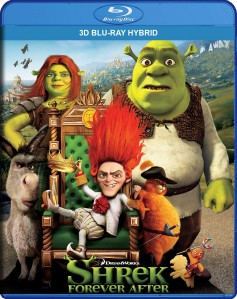 Shrek Forever After 3D Blu-Ray Hybrid - SLBD130681 BDP