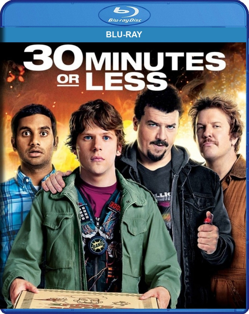 30 Minutes or Less Blu-Ray - 80774 BDS