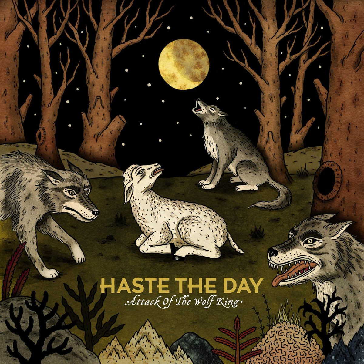 Haste The Day - Attack of the Wolf King CD - 5099960708120