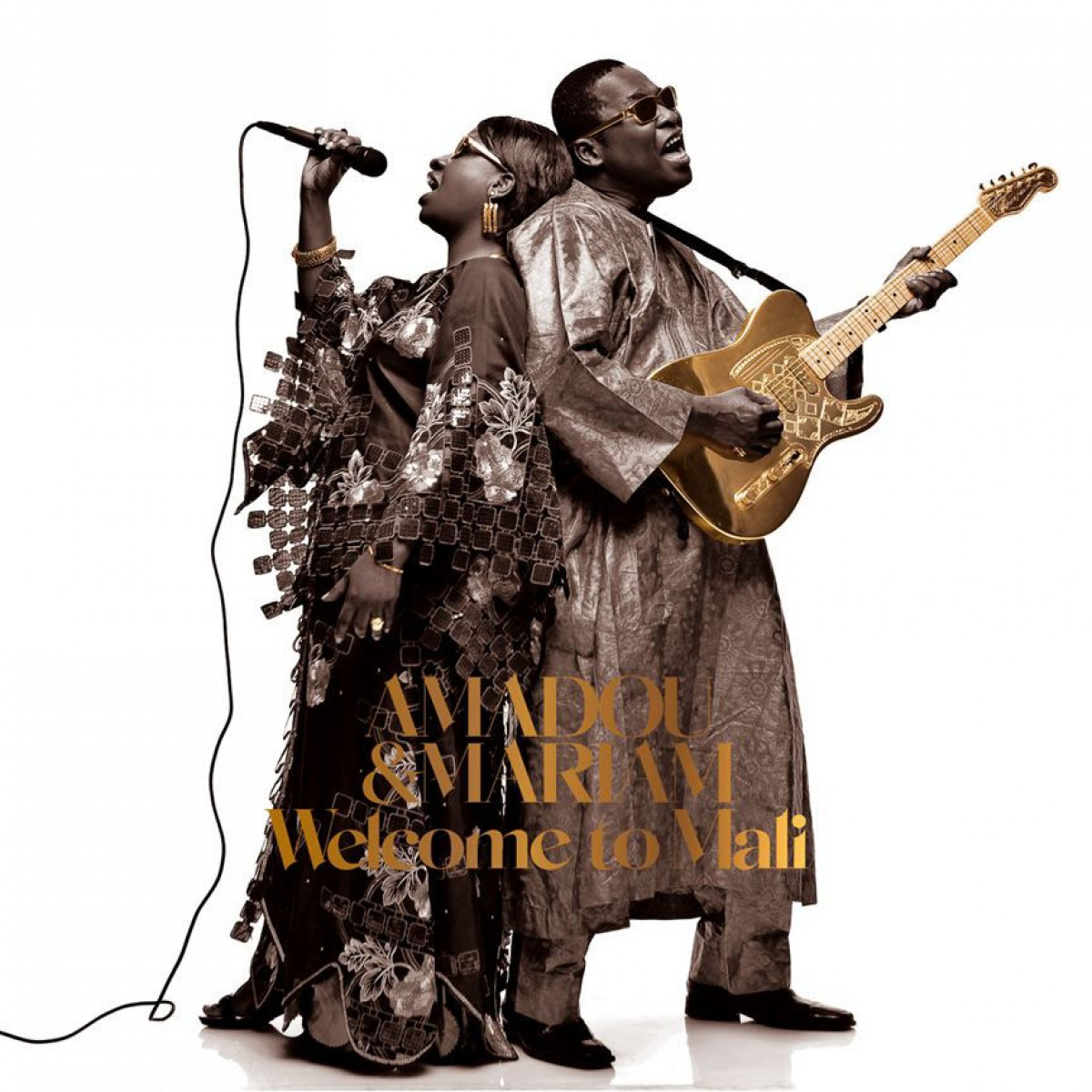 Amadou & Mariam - Welcome to Mali CD - 825646927869