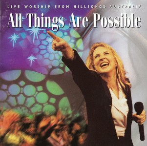 Hillsong Worship - All Things Are Possible CD - WHS/ACD  /111C/