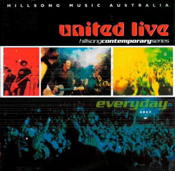 Hillsong United - Everyday (Live) CD - WHS/ACD  /123C/