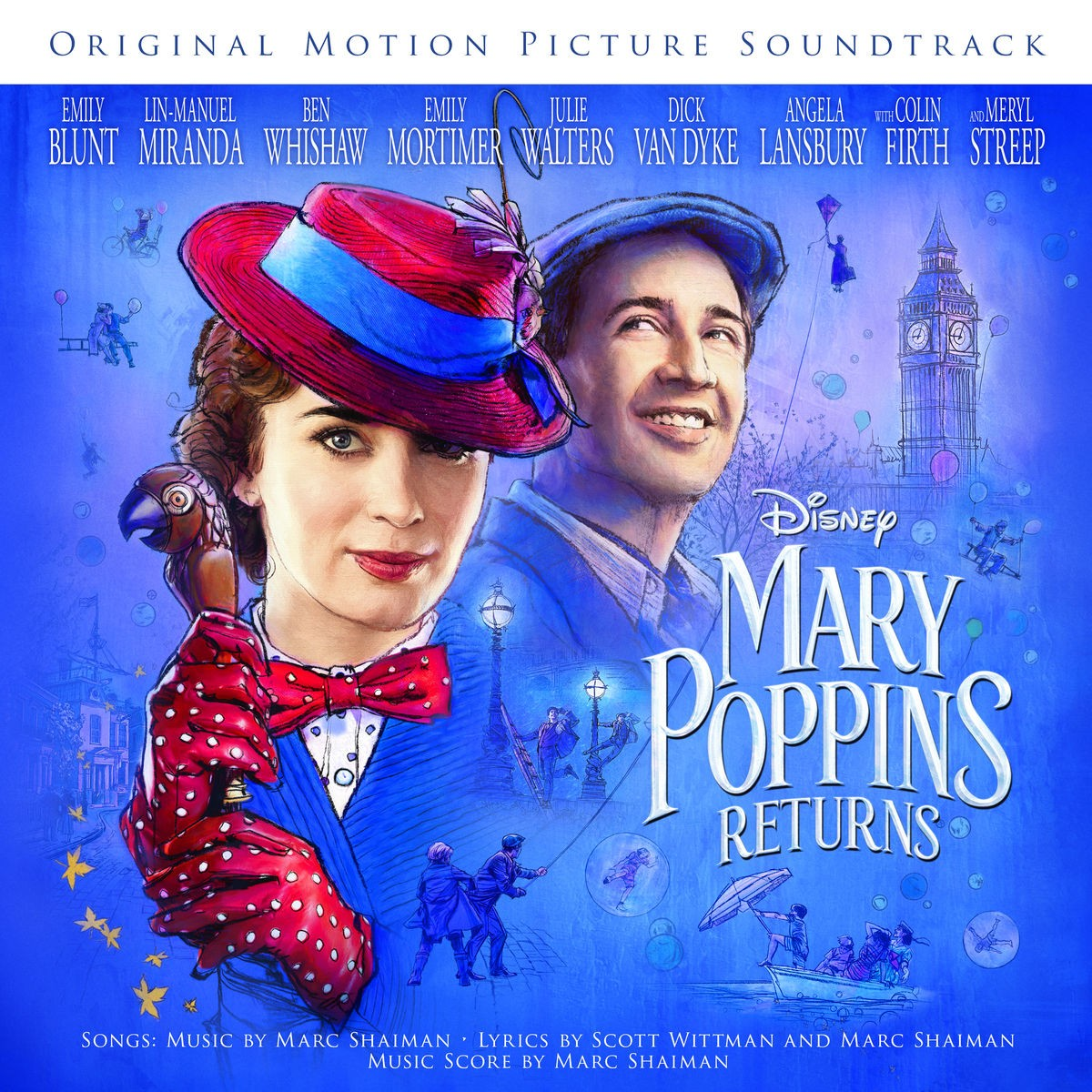Mary Poppins Returns (Original Motion Picture Soundtrack) CD - 00500 8740472