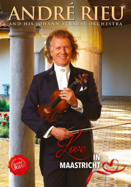 Andre Rieu - Love In Maastricht DVD - 871932640796