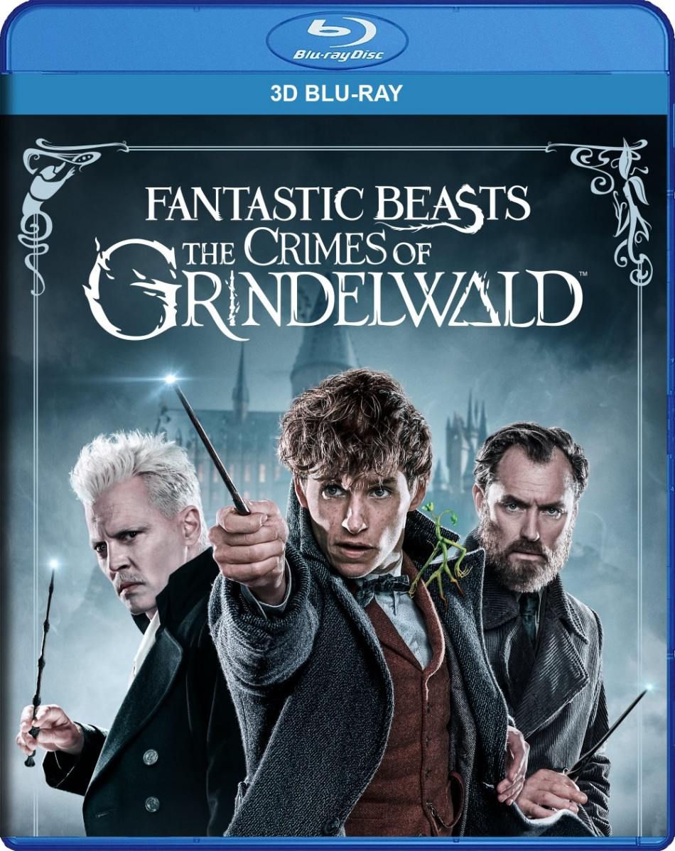 Fantastic Beasts: The Crimes of Grindelwald 3D Blu-Ray - Y35111 BDW